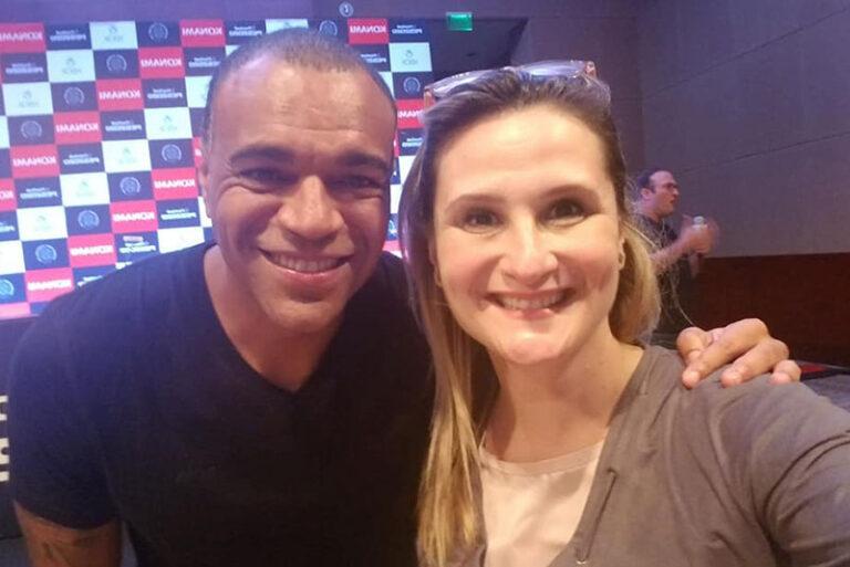 Denilson e Paula Raposo