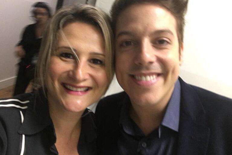 Fabio Porchat e Paula Raposo