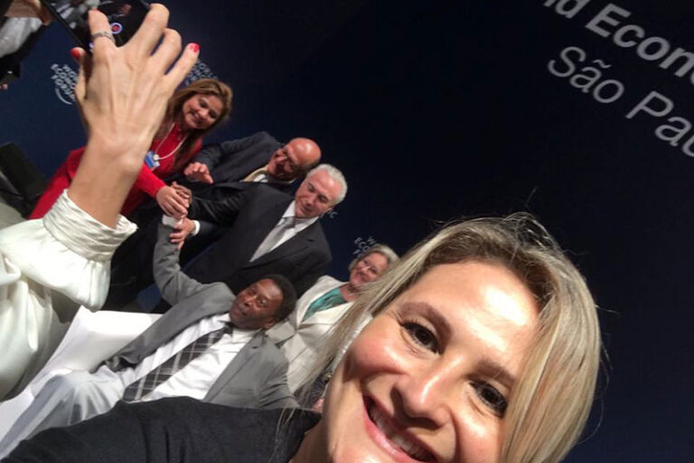 Pele, Michel Temer e Paula-Raposo