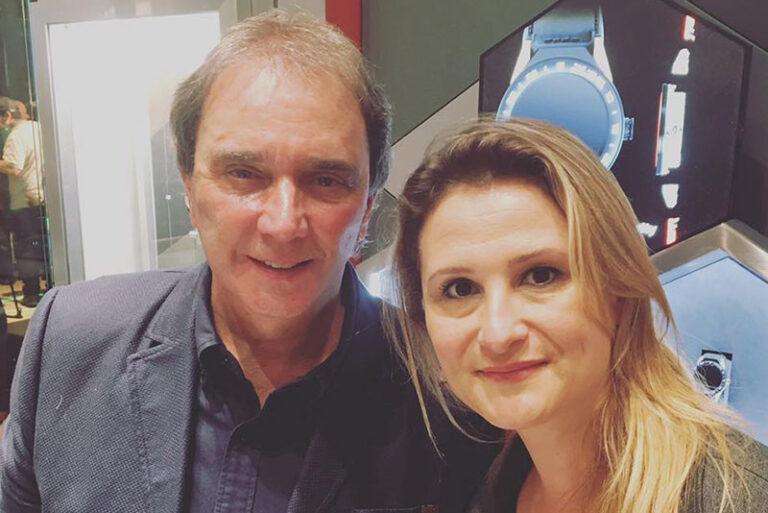 Reginaldo Leme, Comentarista da SporTV e Paula Raposo