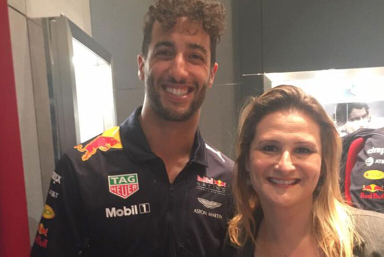 Ricciardo da F1 e Paula Raposo