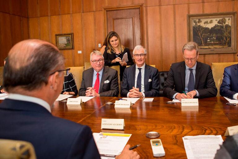 Translation of a meeting between Geraldo Alckmin and President-Minister of Belgium.