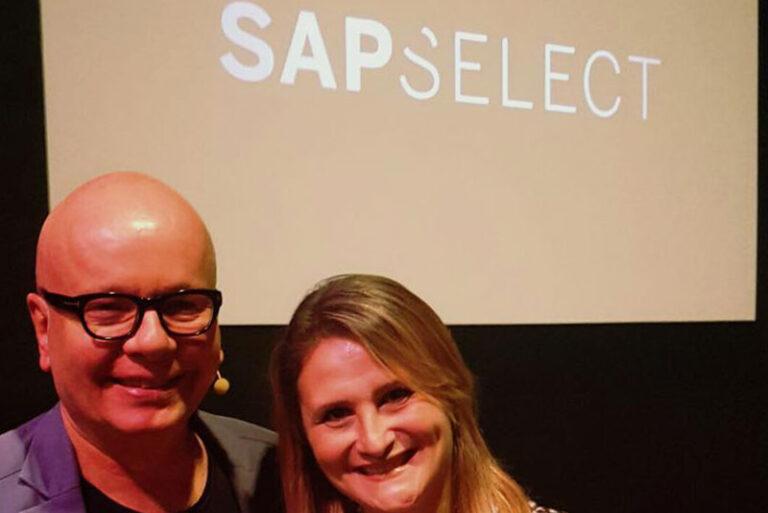 Marcelo Tas e Paula Raposo