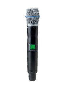 Microfone tipo bastão