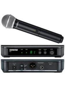 Microfone tipo Bastão (Shure)